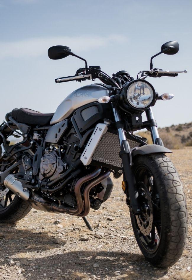 resa med motorcykel